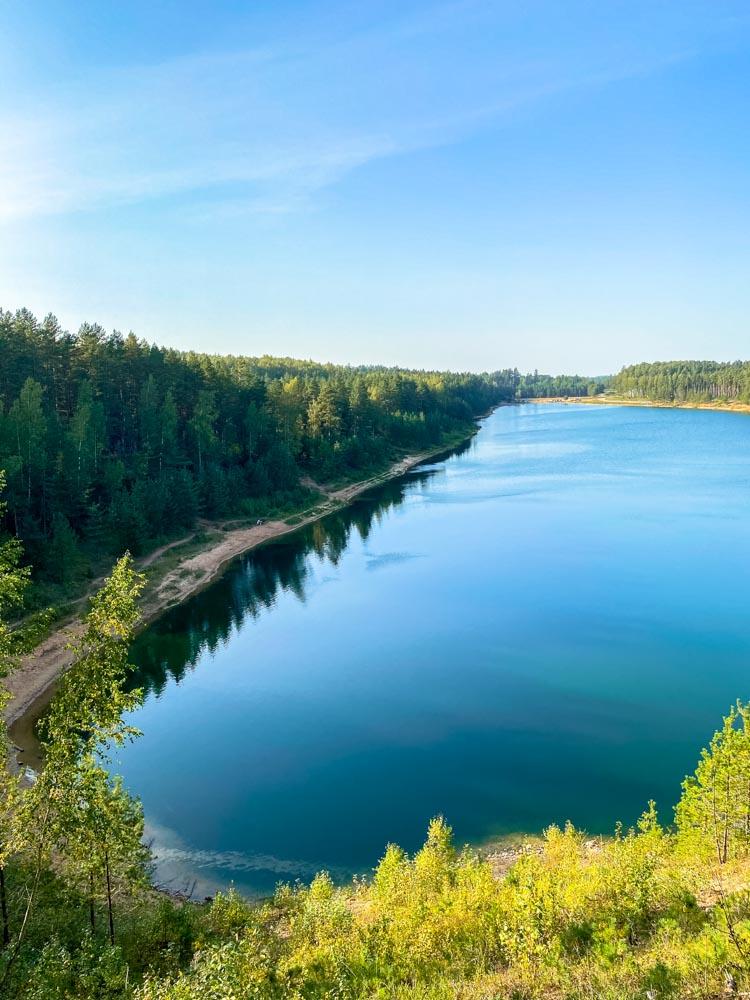 Ogre Blue Hills water reservoir