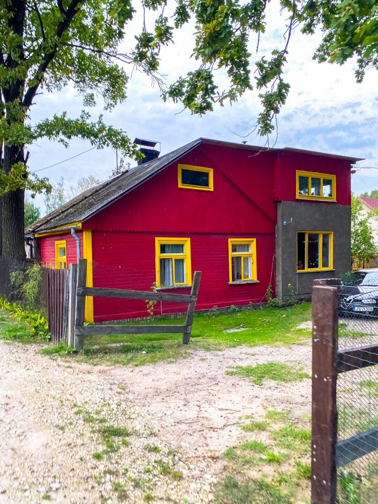Red house in Kundzinsala