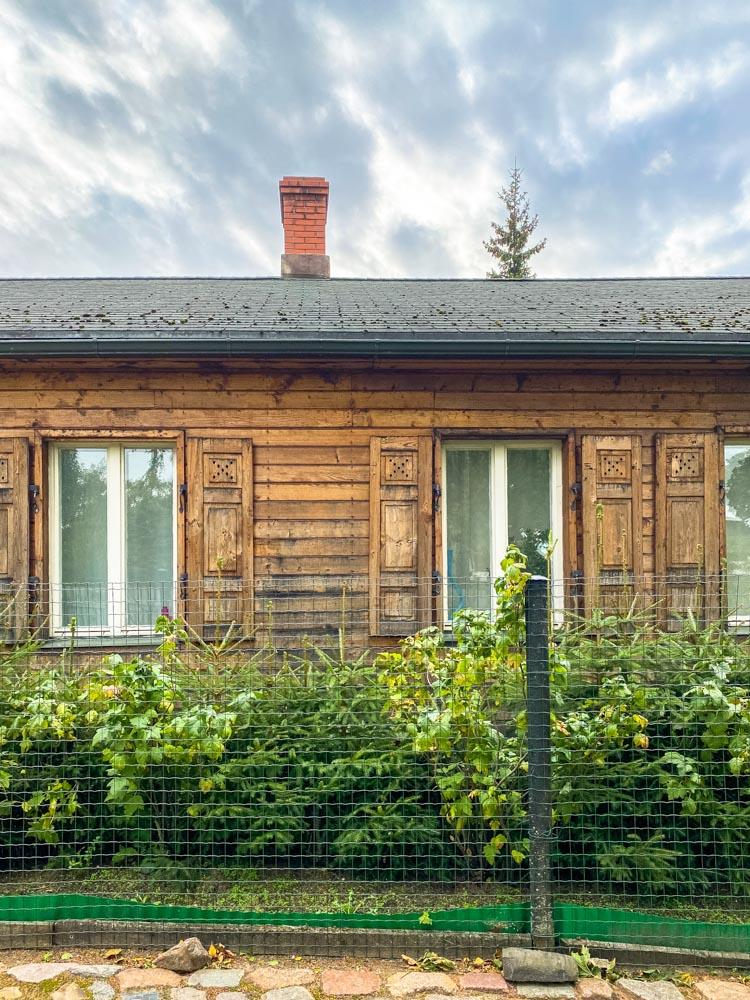 Wooden house in Kipsala, Riga