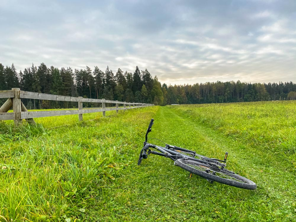 Cycling Valmiera - Cesis - Sigulda on trails
