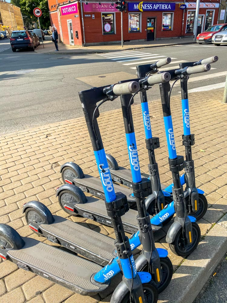 Jungo scooters