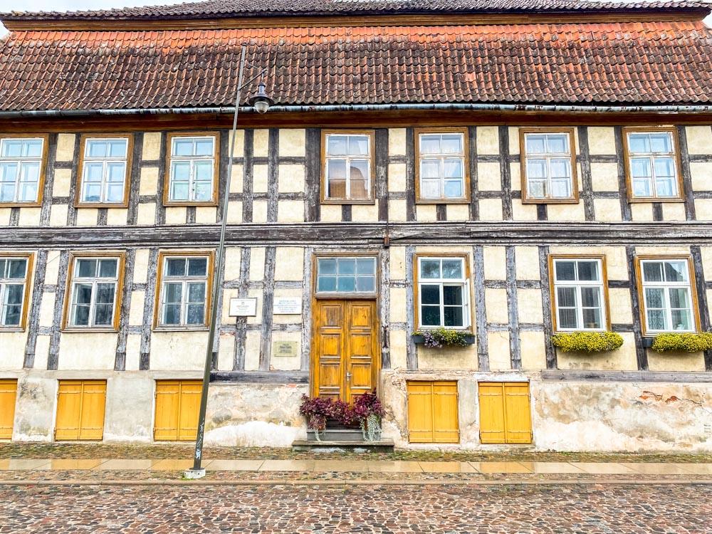 Old building in Kuldiga