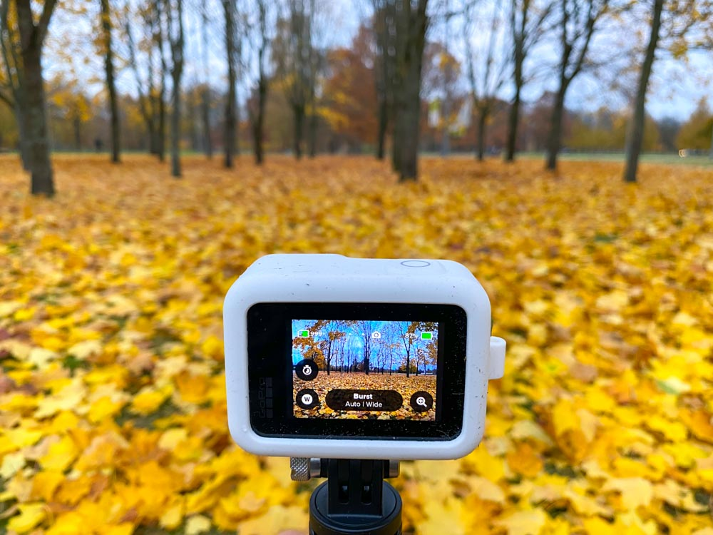 GoPro in the park