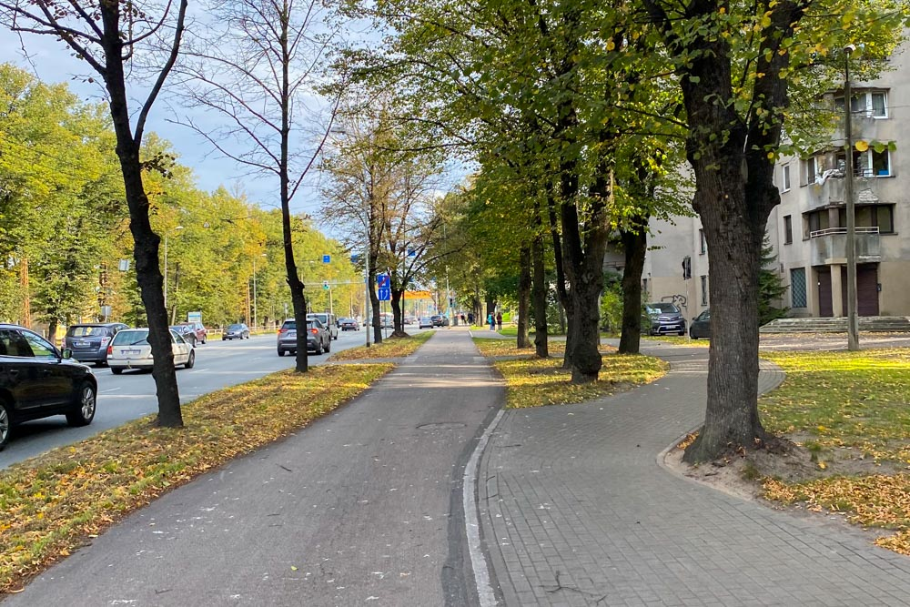 Riga City Center - Bergi Bike Path