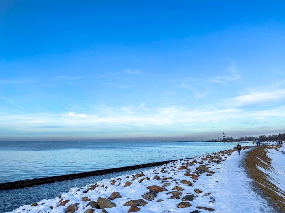 Daugavgriva Beach Hike