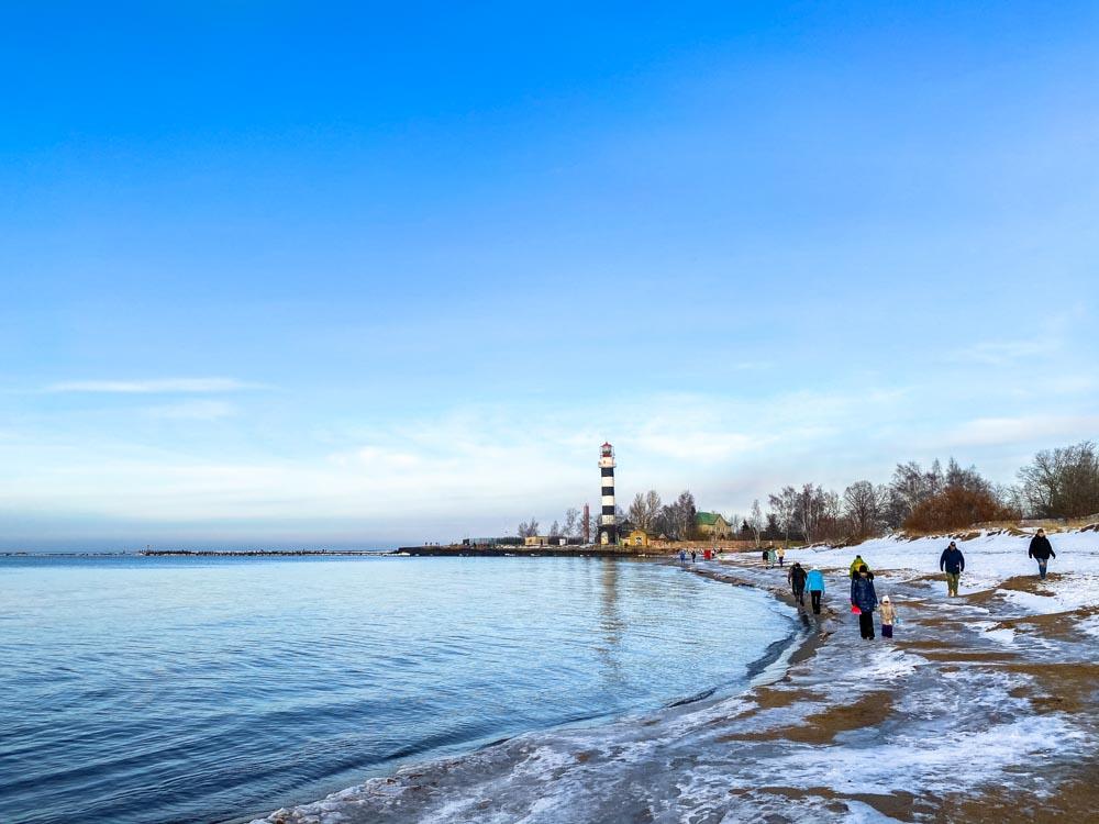 Daugavgriva beach