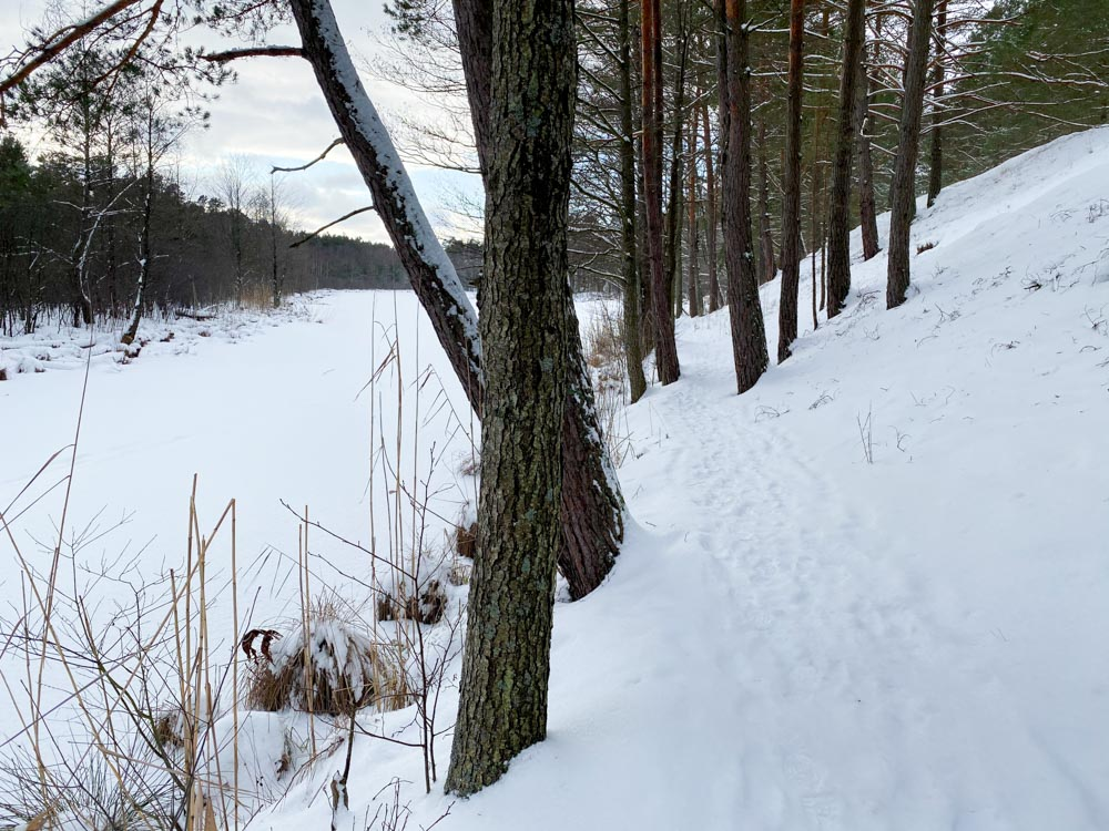 Hiking near Lilaste