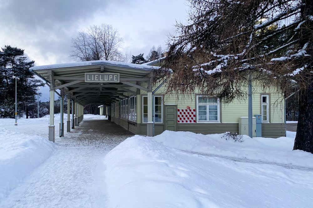 Lielupe train station