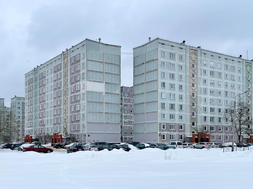 Soviet apartment buildings