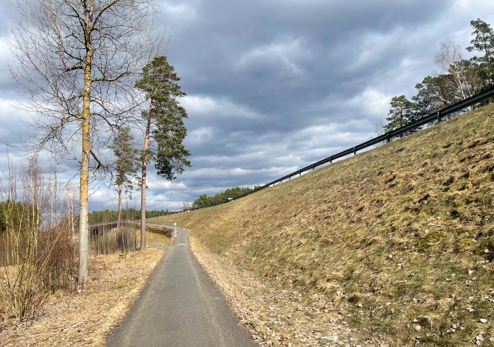 Bergi - Adazi bike path