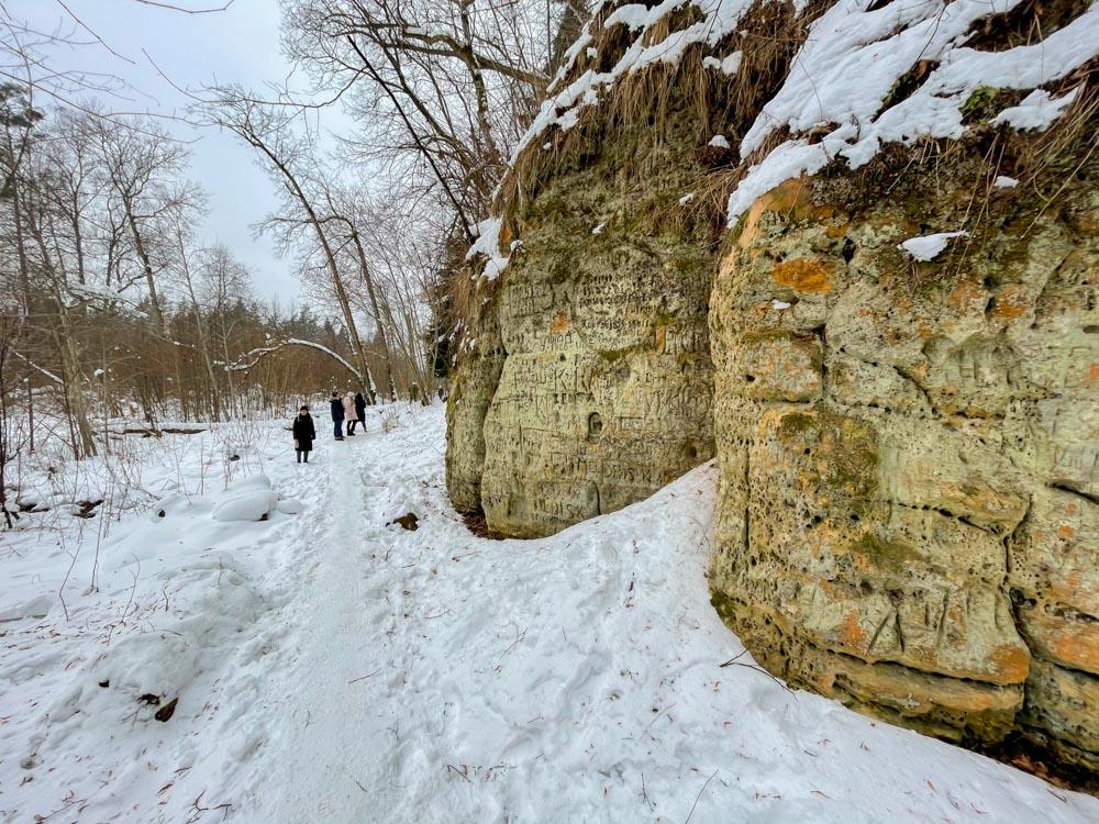Cliffs near Sigulda