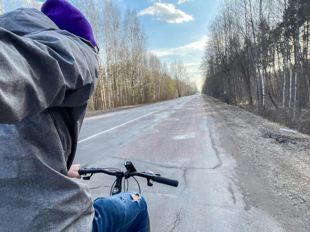 Cycling from Riga to Olaine