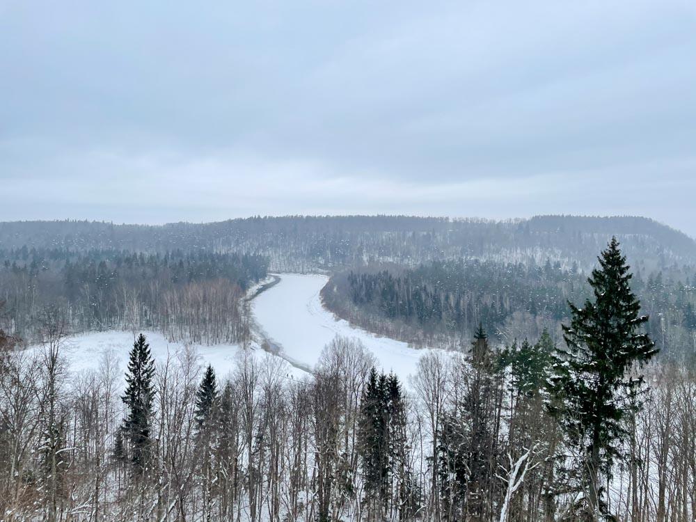 View from Keizarskats