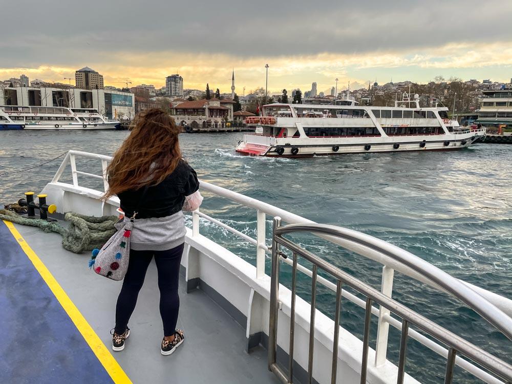 Besiktas - Uskudar ferry