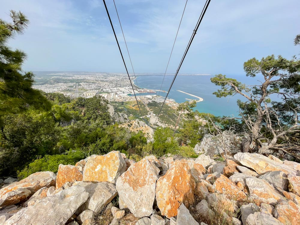 Cable car in Antalya