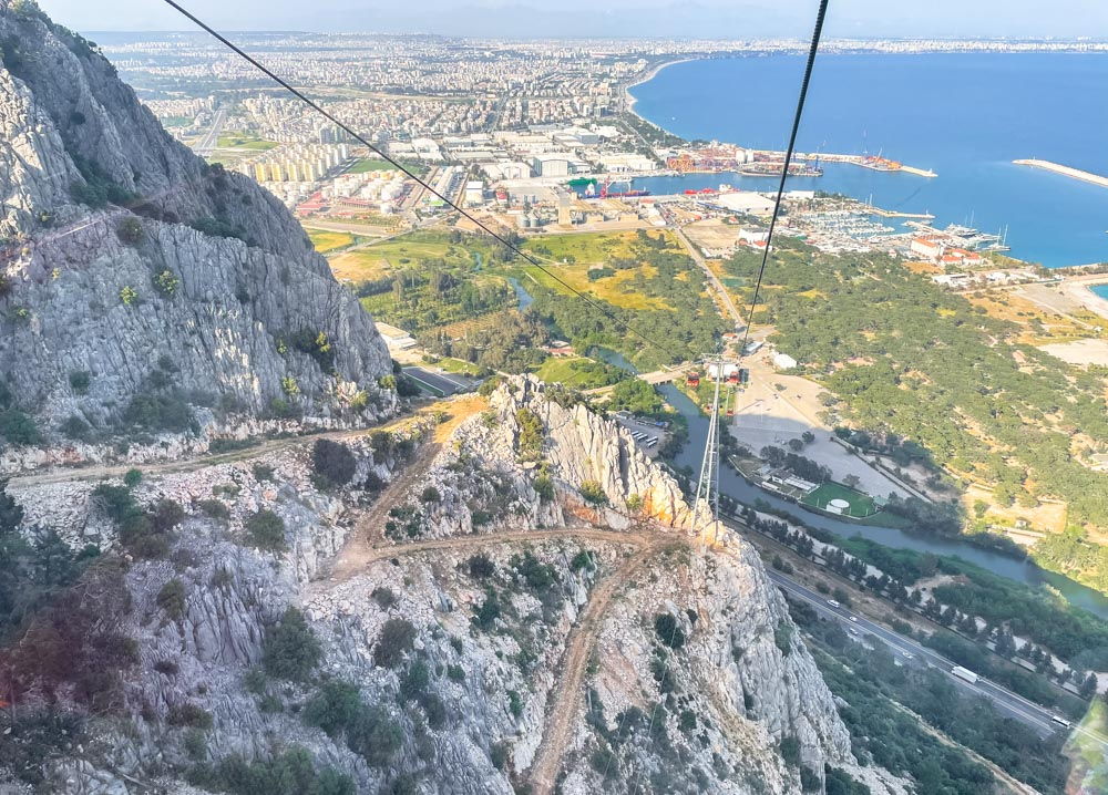Cable car ropes