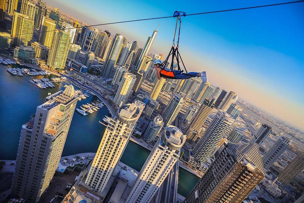 Dubai Zipline