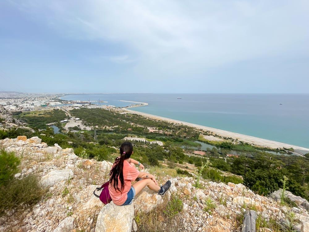 Enjoying the view of Antalya