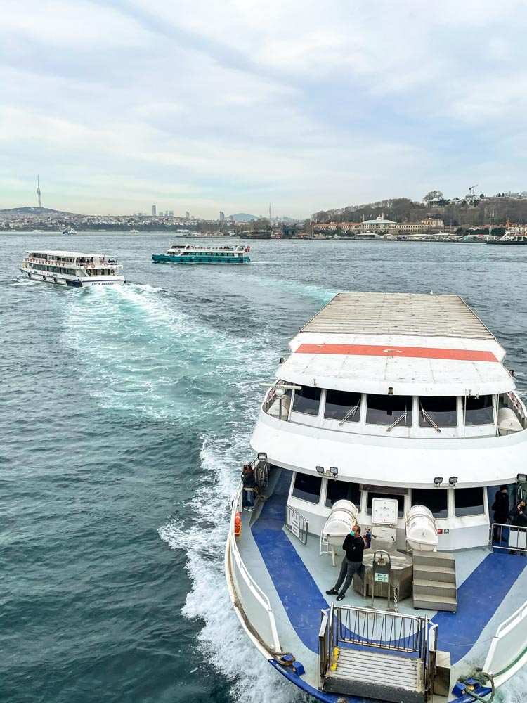 Ferry to Asian side of Istanbul
