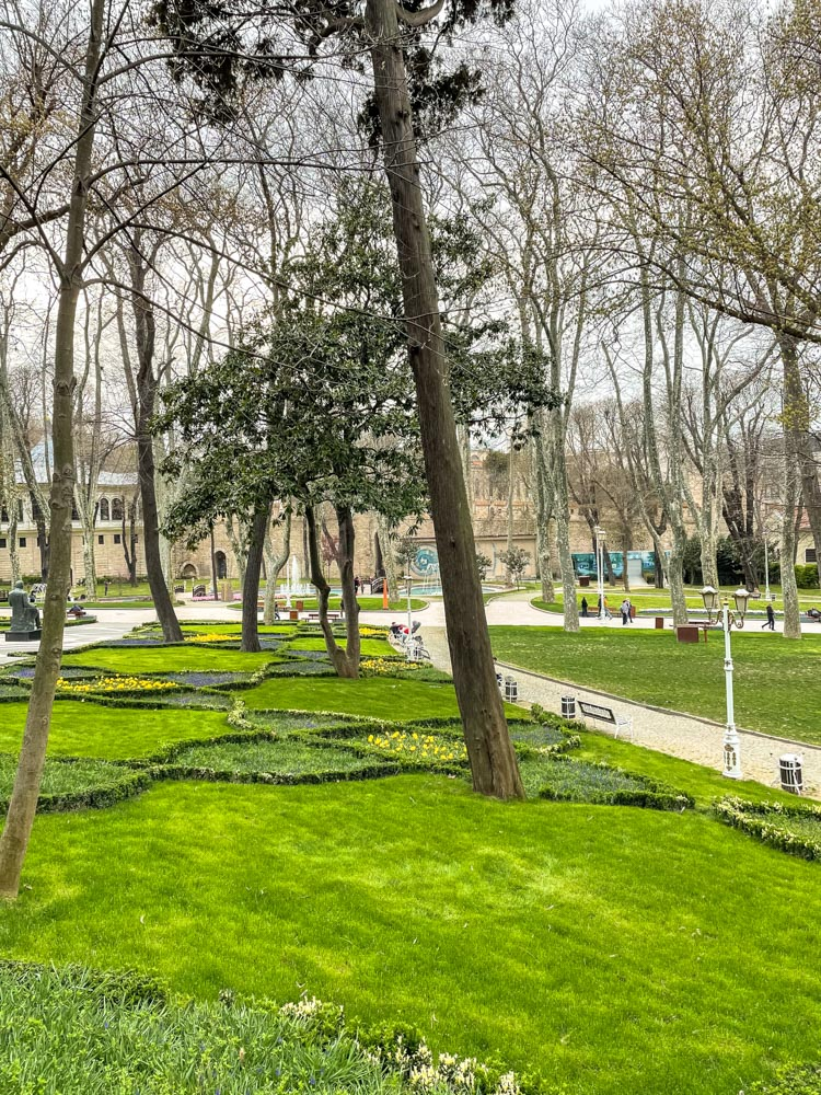 Greenery of Gulhane Park