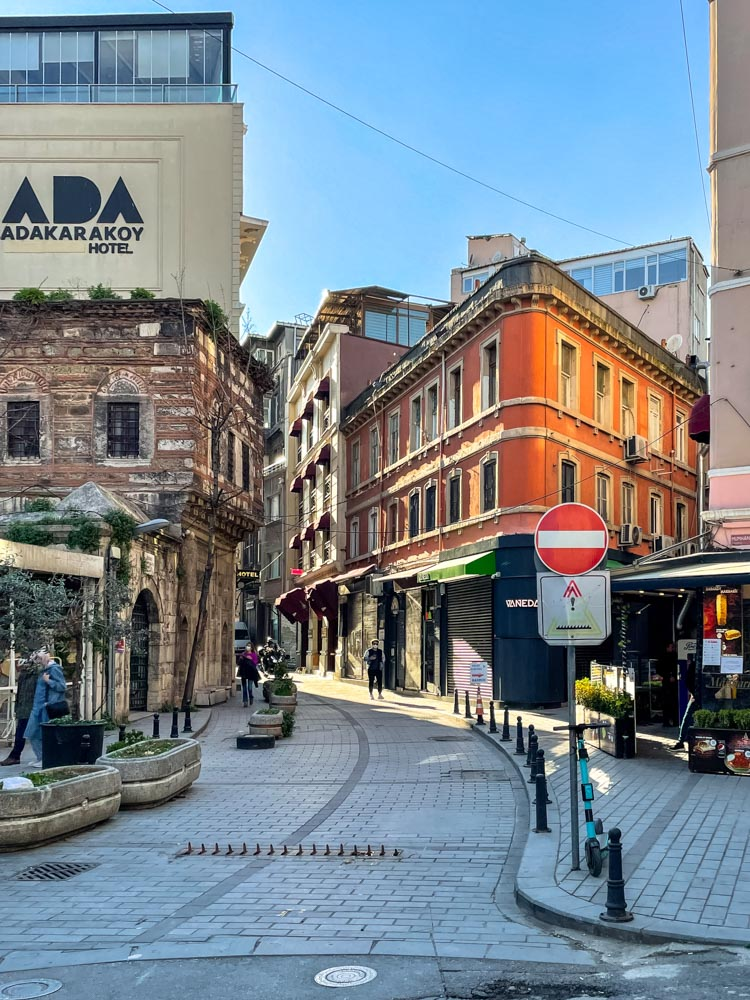 Historical buildings in Istanbul