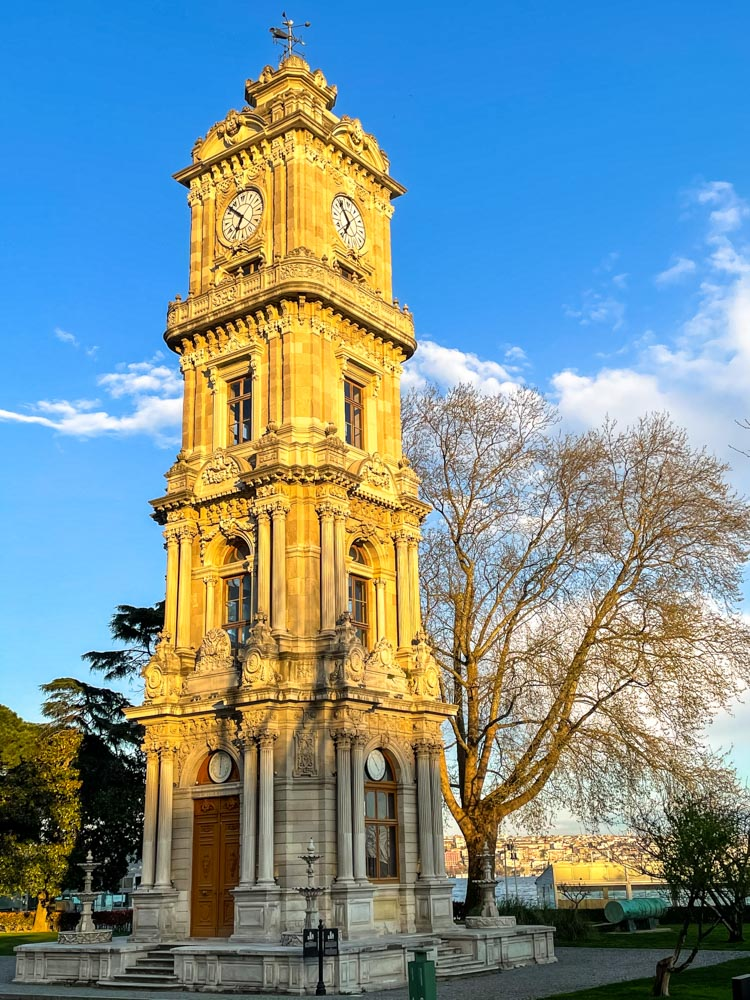 Historical tower in Istanbul