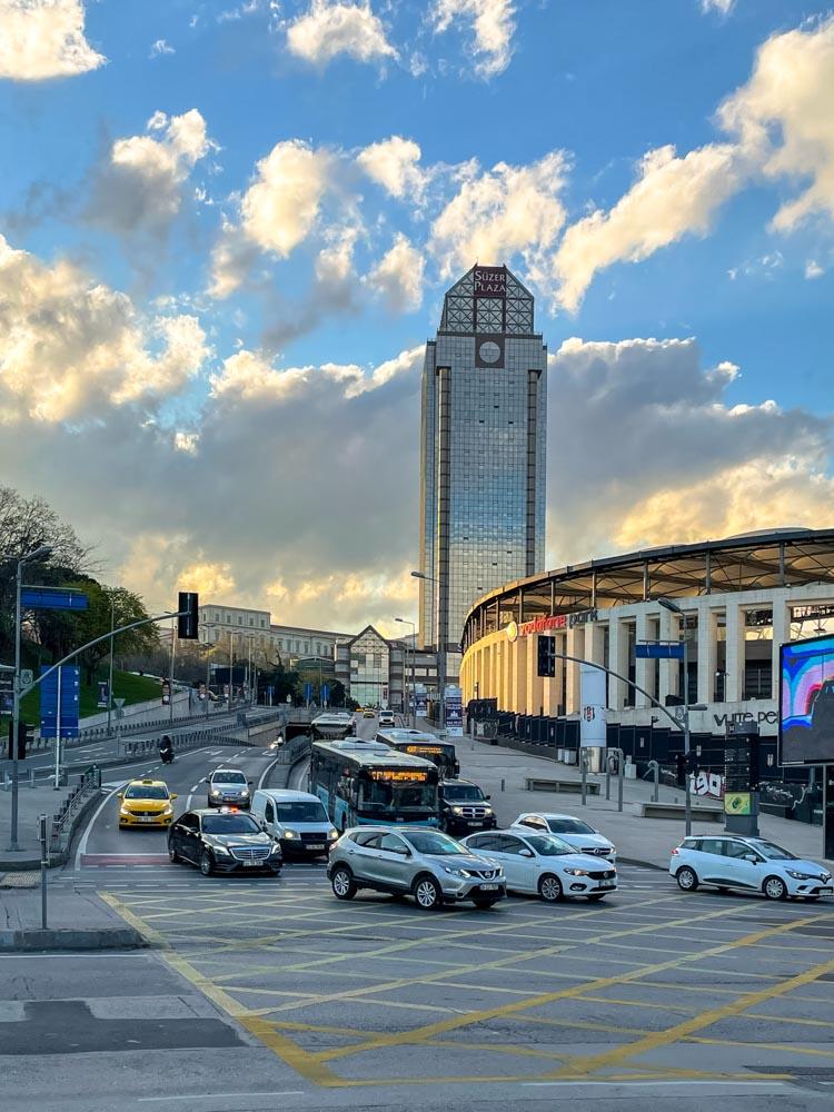 Istanbul evening traffic