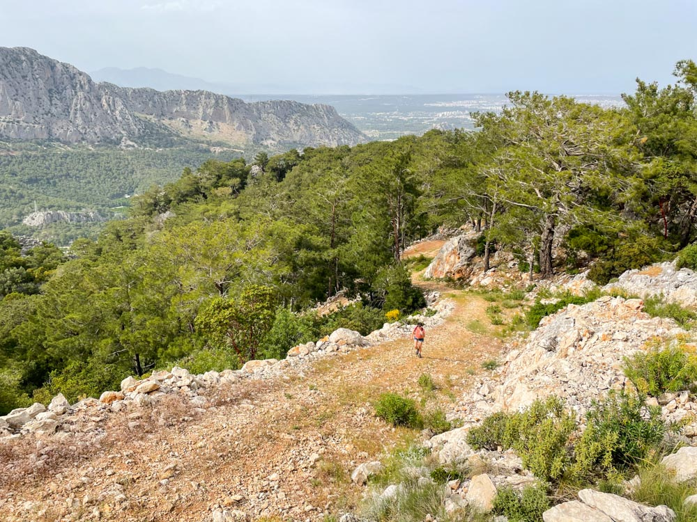 Mountain road near Antalya