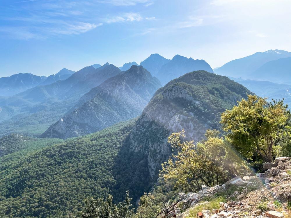 Mountains in Antalya