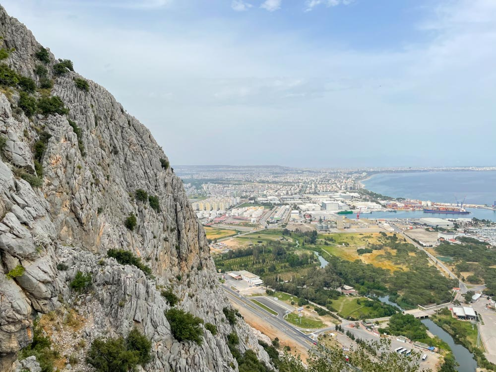 View of Antalya from the top