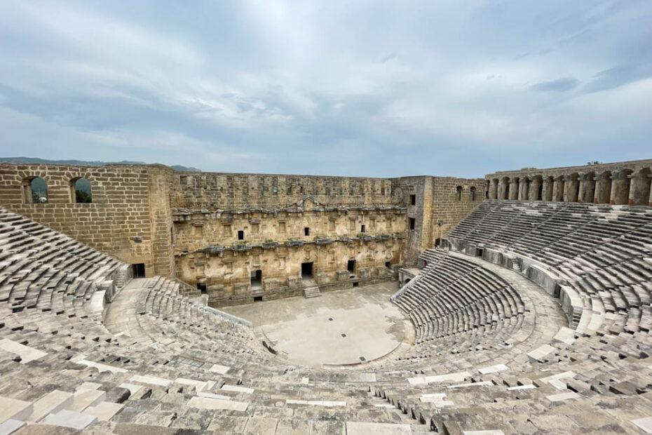 Aspendos theater, Antalya