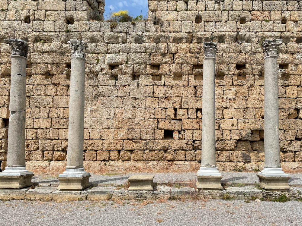 Columns in Perge ancient city