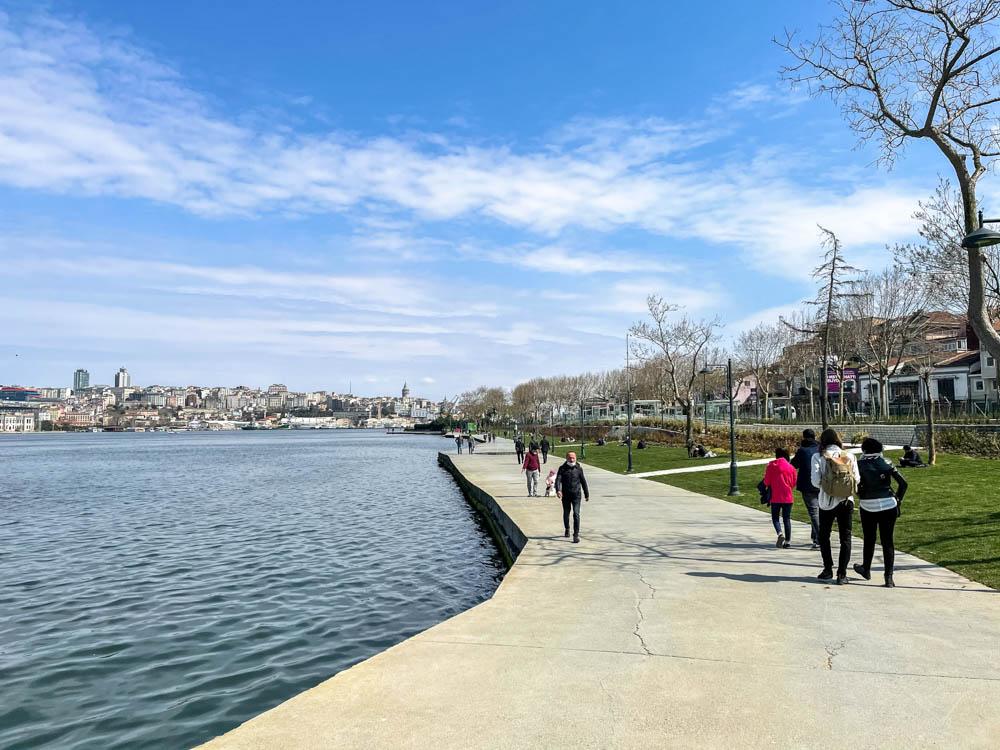 Near Balat park, Istanbul